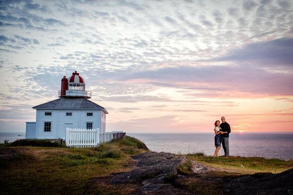 Dave & Yukari :: Cape Spear Newfoundland Wedding