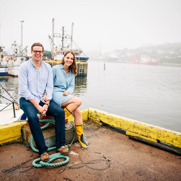 Kayte & Graeme :: St. John's Engagement Shoot