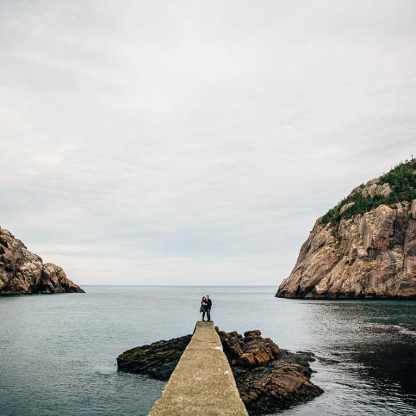 Brittany & Devin - St. John's Engagement