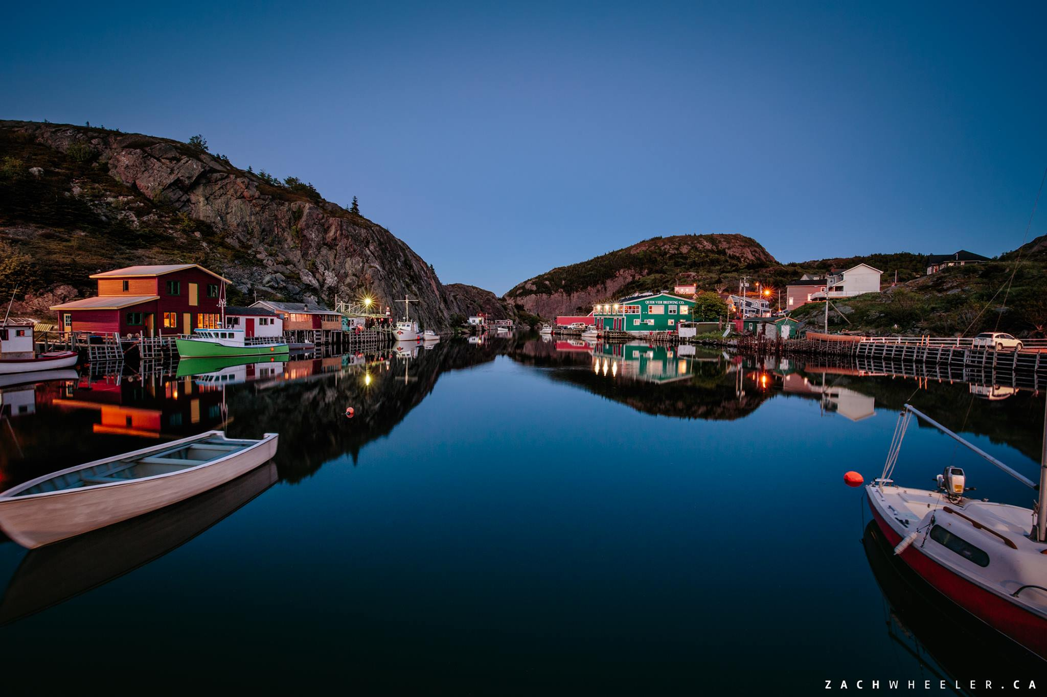 Quidi Vidi Landscape Wedding Engagement Photo Session