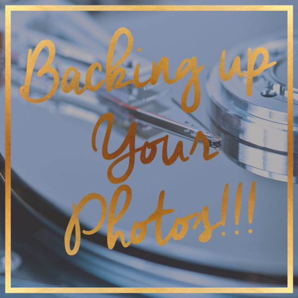 How to backup your wedding photos