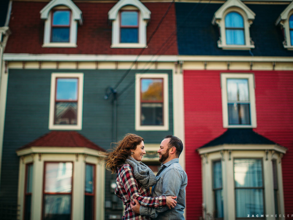 Vanessa & Tim :: A Very Windy Engagement