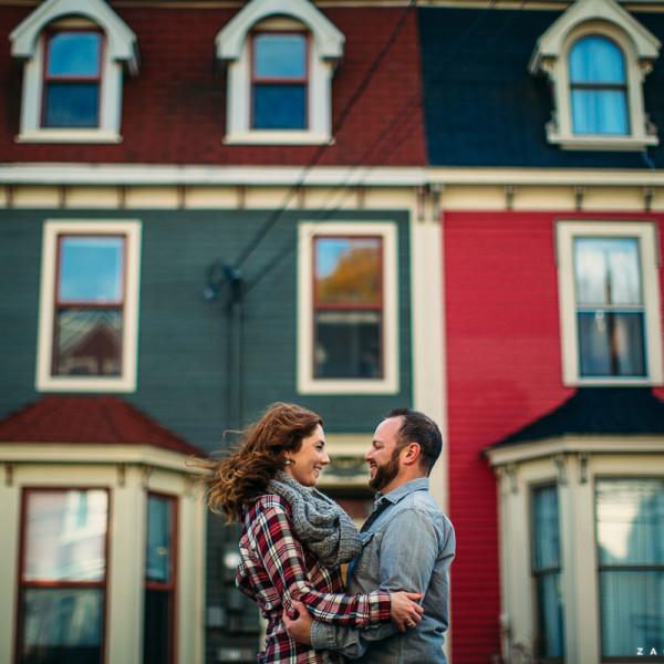 Vanessa & Tim :: A Very Windy Engagement