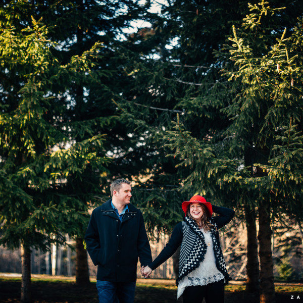 Alicia & Randy :: A Wicked Winter Engagement