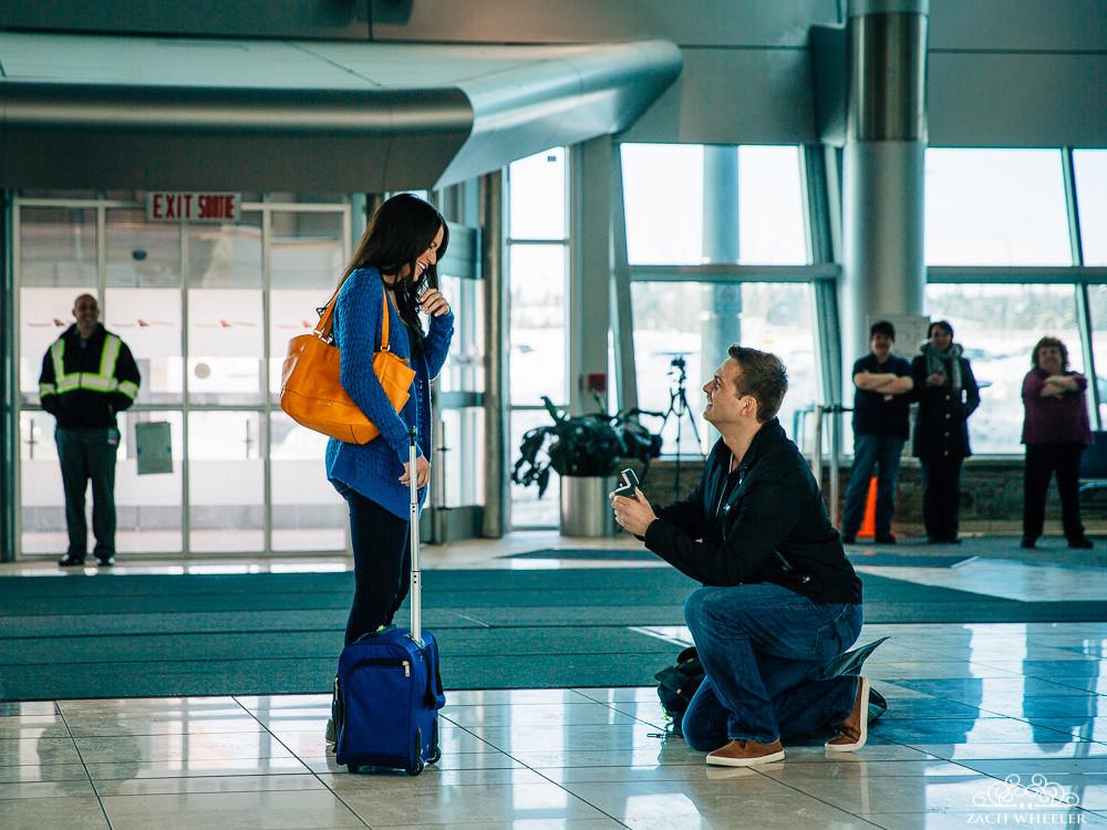 A Surprise Proposal at YYT