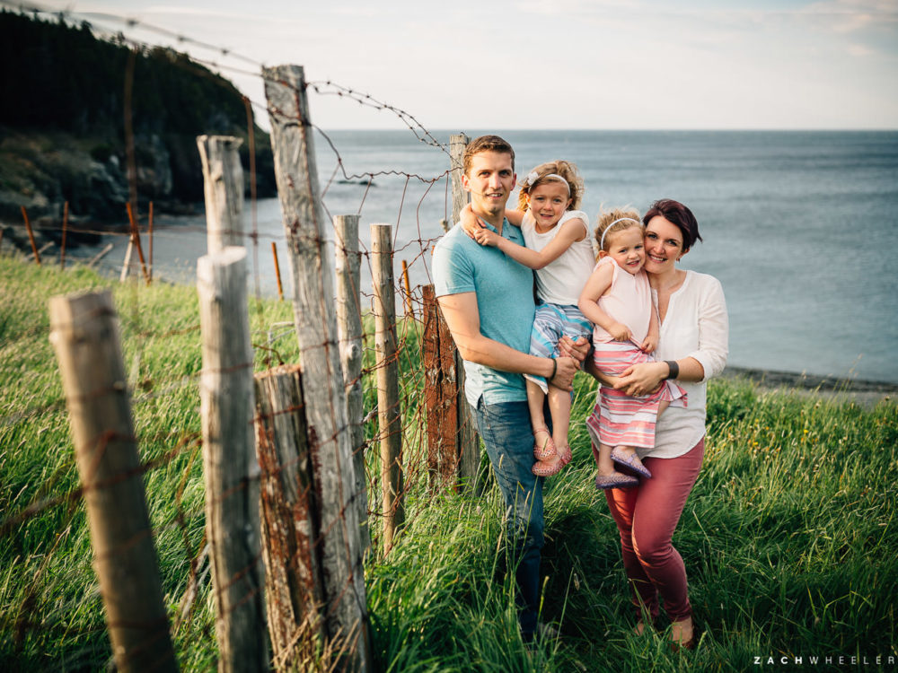 Tabitha & Chad & Madeline & Ellie :: At Middle Cove Beach