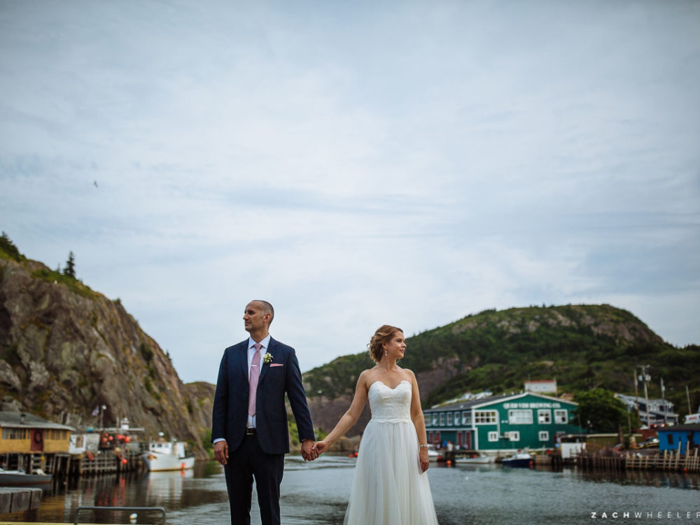 Corey & Kelly :: A Mallard Cottage Wedding in St. John's