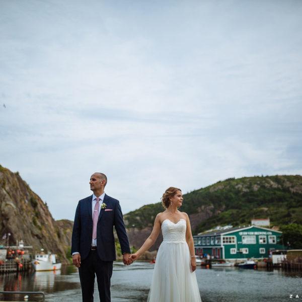 Corey & Kelly :: A Mallard Cottage Wedding in St. John's