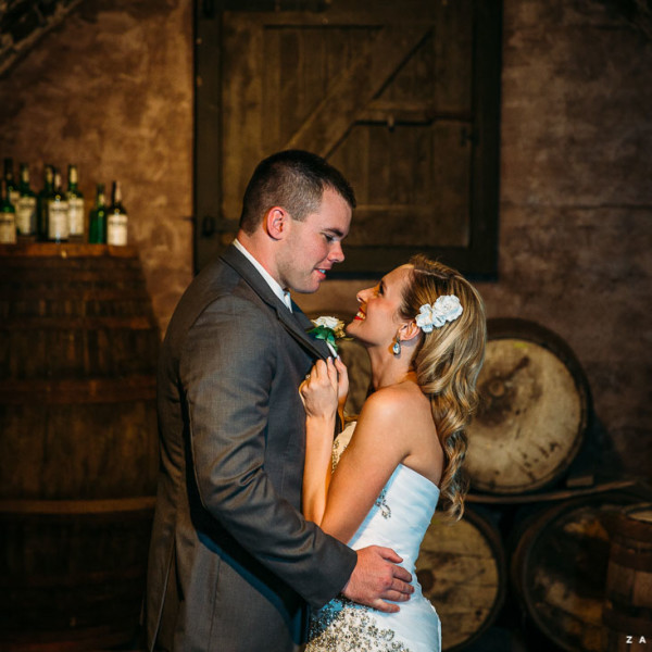 Allison & Justin :: At the Newman Wine Vaults