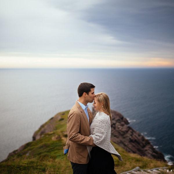 Kathryn & Josh :: A Coastline Engagement Session
